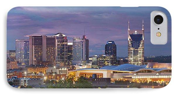 Nashville Skyline Phone Case by Brian Jannsen