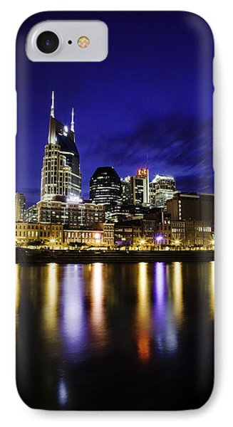 Nashville Skyline Phone Case by Lucas Foley