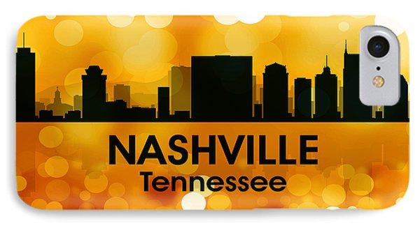 Nashville Tn 3 Phone Case by Angelina Vick