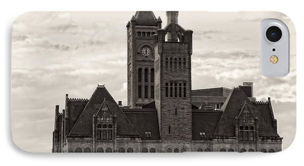 Nashville's Union Station Phone Case by Dan Sproul