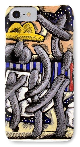 Nassau Junkanoo 1 IPhone Case by Philip Slagter