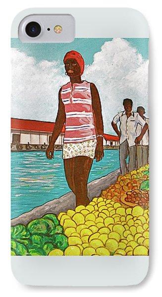 Nassau Woman IPhone Case by Frank Hunter
