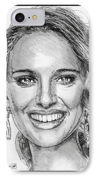 Natalie Portman In 2011 Phone Case by J McCombie