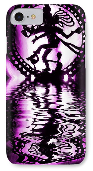 Nataraja The Lord Of Dance IPhone Case by Tim Gainey