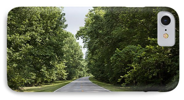 Natchez Trace Parkway In Cobert County Phone Case by Carol M Highsmith