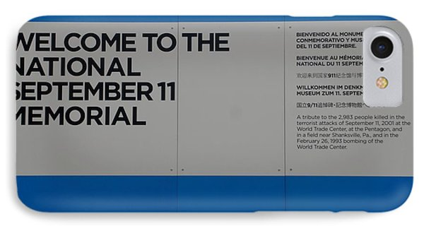 National 9/11 Memorial  Phone Case by Rob Hans
