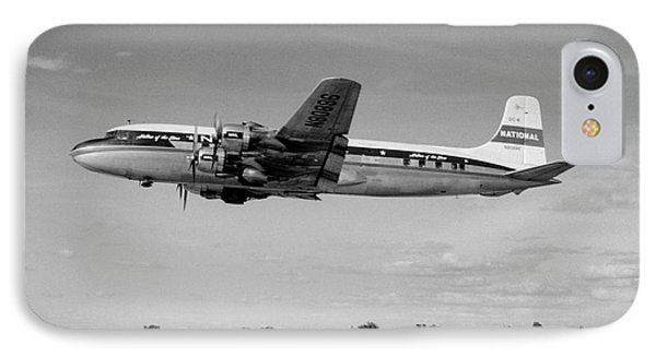 National Airlines Nal Douglas Dc-6 IPhone Case by Wernher Krutein