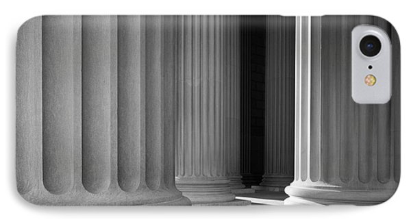 National Archives Columns IPhone Case by Inge Johnsson
