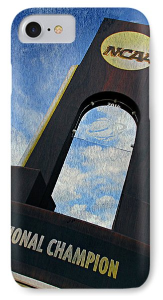 National Champions IPhone Case by Stephen Stookey