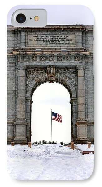 National Memorial Arch IPhone Case by Olivier Le Queinec
