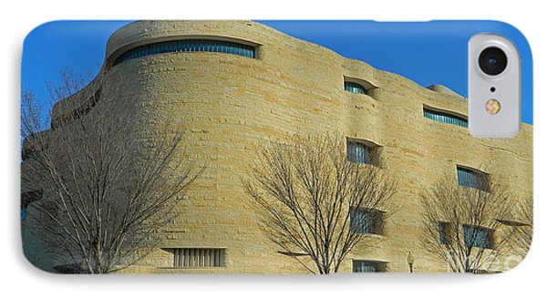 National Museum Of The American Indian IPhone Case by Emmy Marie Vickers