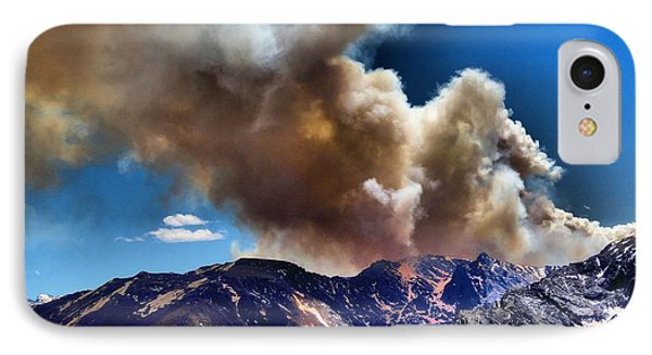 National Park Fire IPhone Case by Dan Sproul
