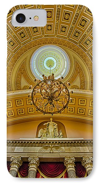 National Statuary Hall Phone Case by Susan Candelario