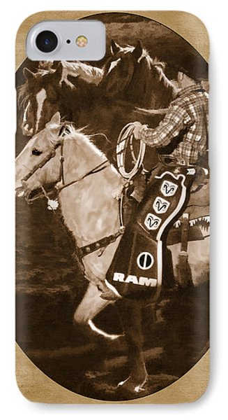 National Western Stock Show Phone Case by Priscilla Burgers