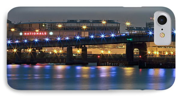 IPhone Case featuring the photograph Nationals Park by Jerry Gammon