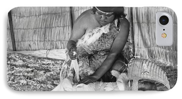 Native American Baby Cradle IPhone Case