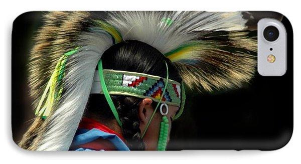 Native American Boy Phone Case by Kathleen Struckle