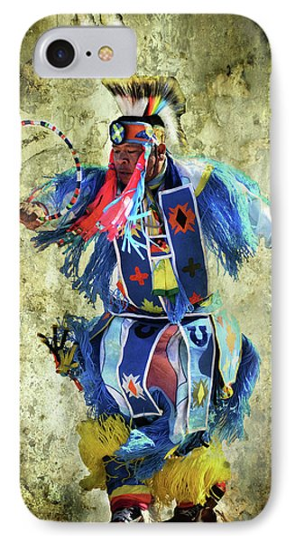 Native American Dancer IPhone Case by Barbara Manis