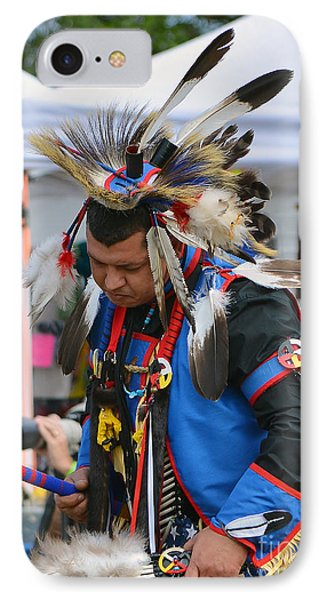 IPhone Case featuring the photograph Native American Dancer by Kathy Baccari