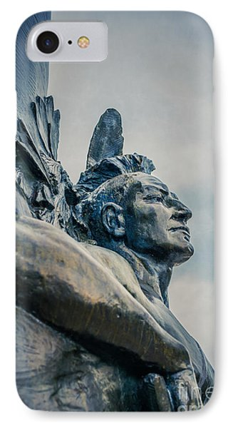 Native American IPhone Case by Edward Fielding