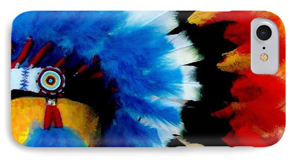 Native American Headdress IPhone Case