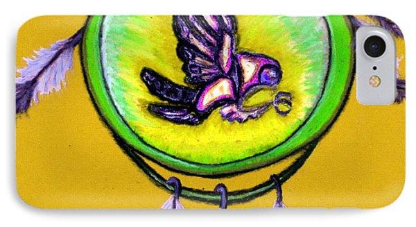 Native American Owl Symbol 4 IPhone Case by Ayasha Loya