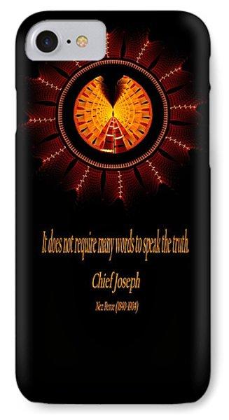 Native Truth - Chief Joseph IPhone Case