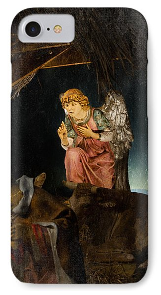 Nativity Angel  Phone Case by Susan  McMenamin
