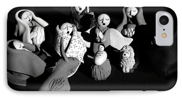 IPhone Case featuring the photograph Nativity Earthenware by Ron White