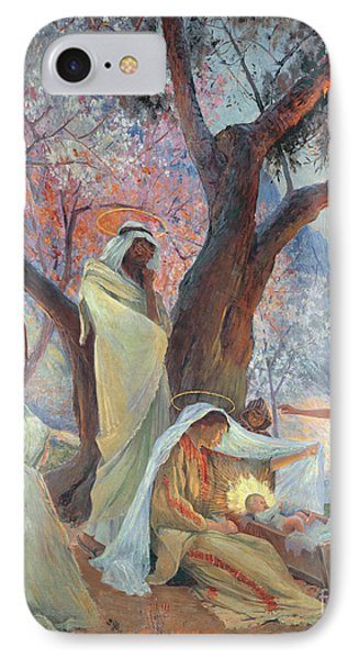 Nativity IPhone Case by Frederic Montenard