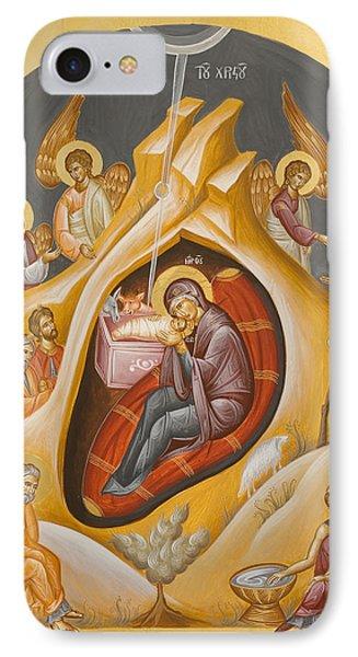 Nativity Of Christ IPhone Case by Julia Bridget Hayes