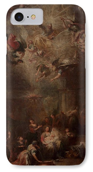 Nativity Of Mary IPhone Case by Andrea Celesti