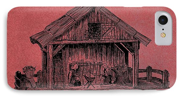 Nativity Scene Patent IPhone Case by Dan Sproul