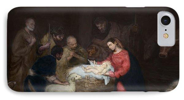 Nativity IPhone Case by Walter Lynn Mosley