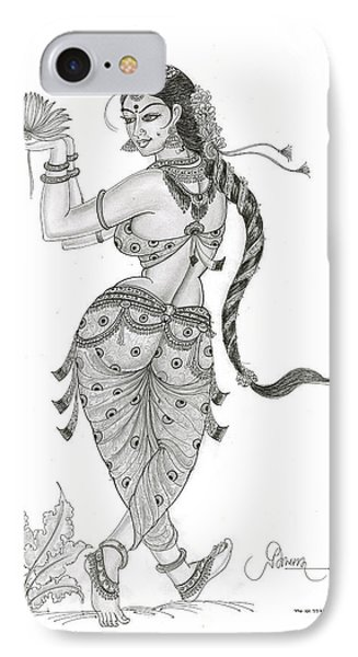 Dancing In Nature IPhone Case by Art Tantra