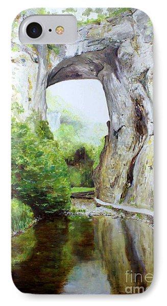 Natural Bridge Phone Case by J Luis Lozano