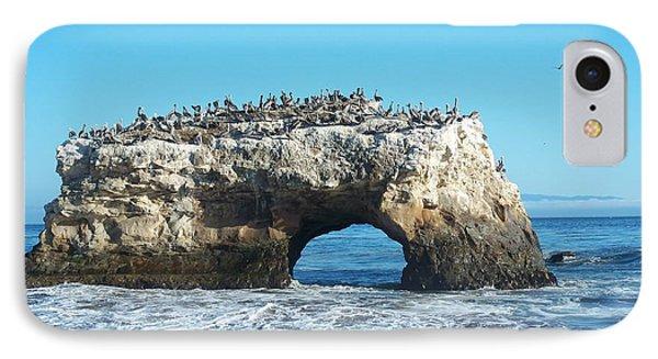 Natural Bridges State Beach IPhone Case by Georgia Fowler