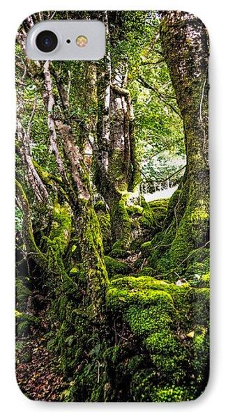 Natural Emeralds. I Wicklow. Ireland Phone Case by Jenny Rainbow
