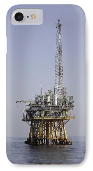 IPhone Case featuring the photograph Natural Gas Platform by Bradford Martin