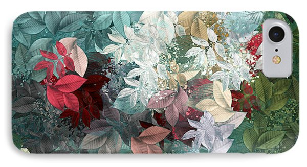 Naturaleaves - S20-05b IPhone Case by Variance Collections