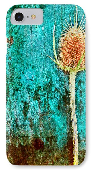 IPhone Case featuring the digital art Nature Abstract 13 by Maria Huntley