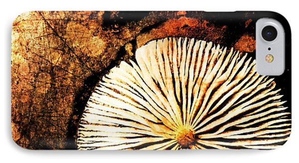 IPhone Case featuring the digital art Nature Abstract 14 by Maria Huntley