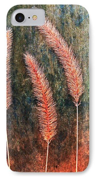 IPhone Case featuring the digital art Nature Abstract 15 by Maria Huntley