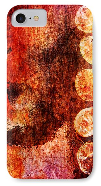 IPhone Case featuring the digital art Nature Abstract 3 by Maria Huntley
