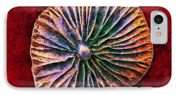 IPhone Case featuring the digital art Nature Abstract 7 by Maria Huntley