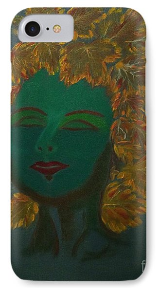 IPhone Case featuring the painting Nature At Her Best by Brindha Naveen