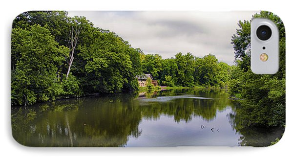 Nature Center On Salt Creek Phone Case by Thomas Woolworth