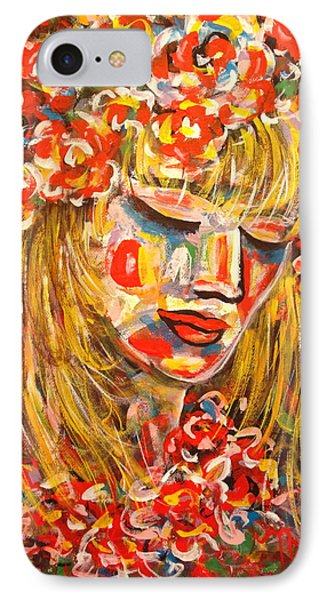 Nature Girl Phone Case by Natalie Holland