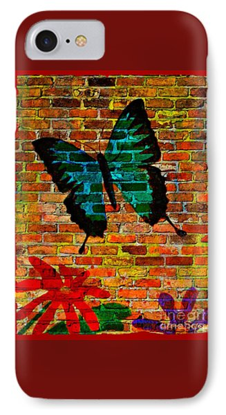 Nature On The Wall IPhone Case by Leanne Seymour
