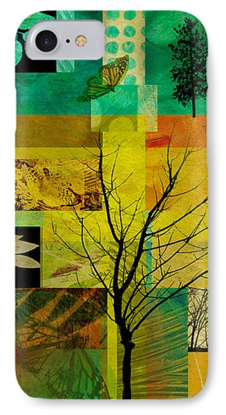 Nature Patchwork Phone Case by Ann Powell